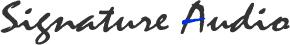 Signature Audio Logo